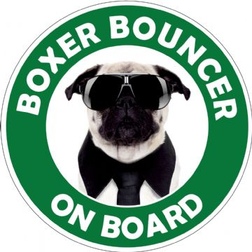 Boxer Bouncer On Board